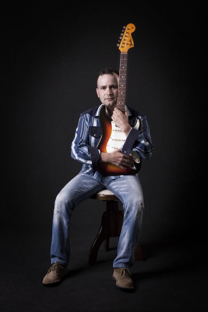 Fender Stratocaster SunBurst - 1966 con Lucio Belli